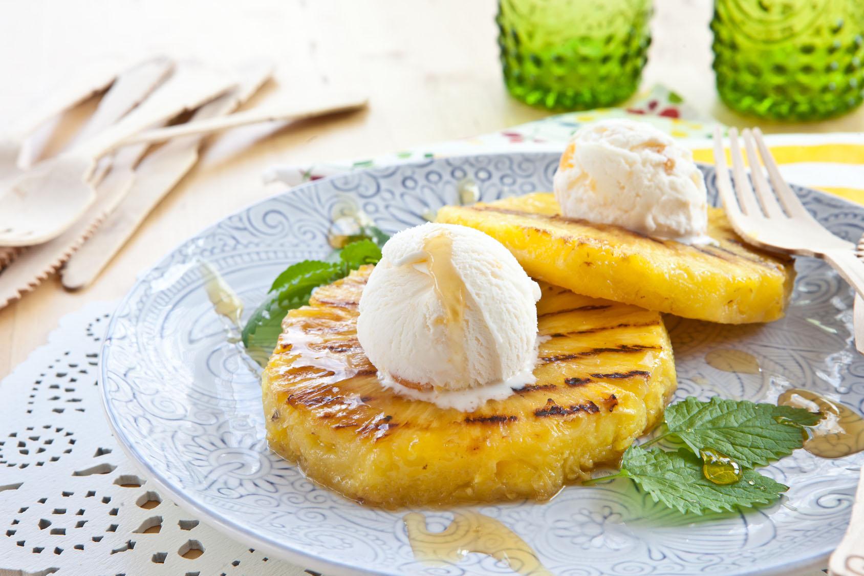 Ananas Grillen