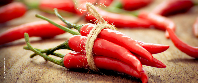 kühlende Lebensmittel - Chili