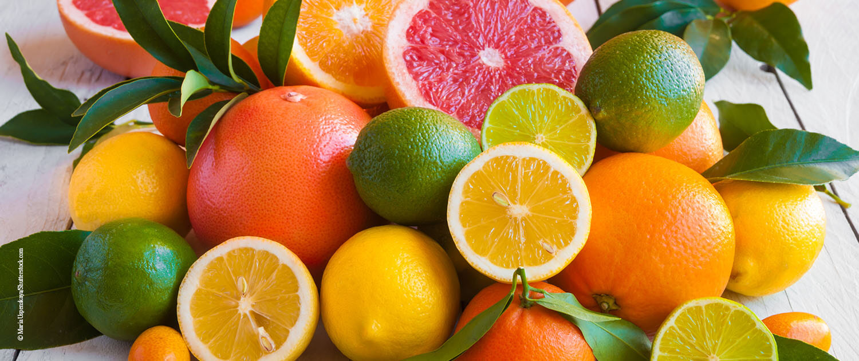 kühlende Lebensmittel - Zitrusfrüchte