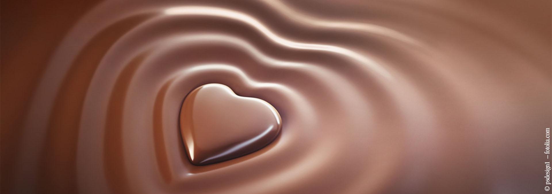 Essen und Film Schokolade
