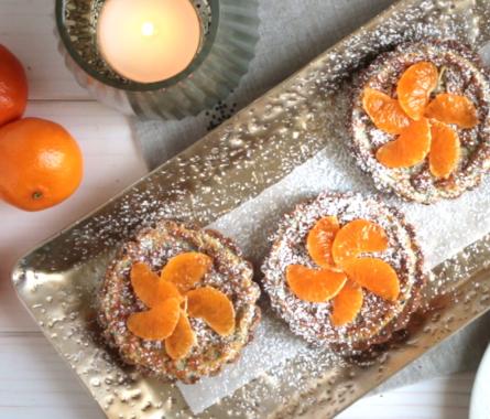 Mohn-Cheesecakes für Weihnachten - Bild