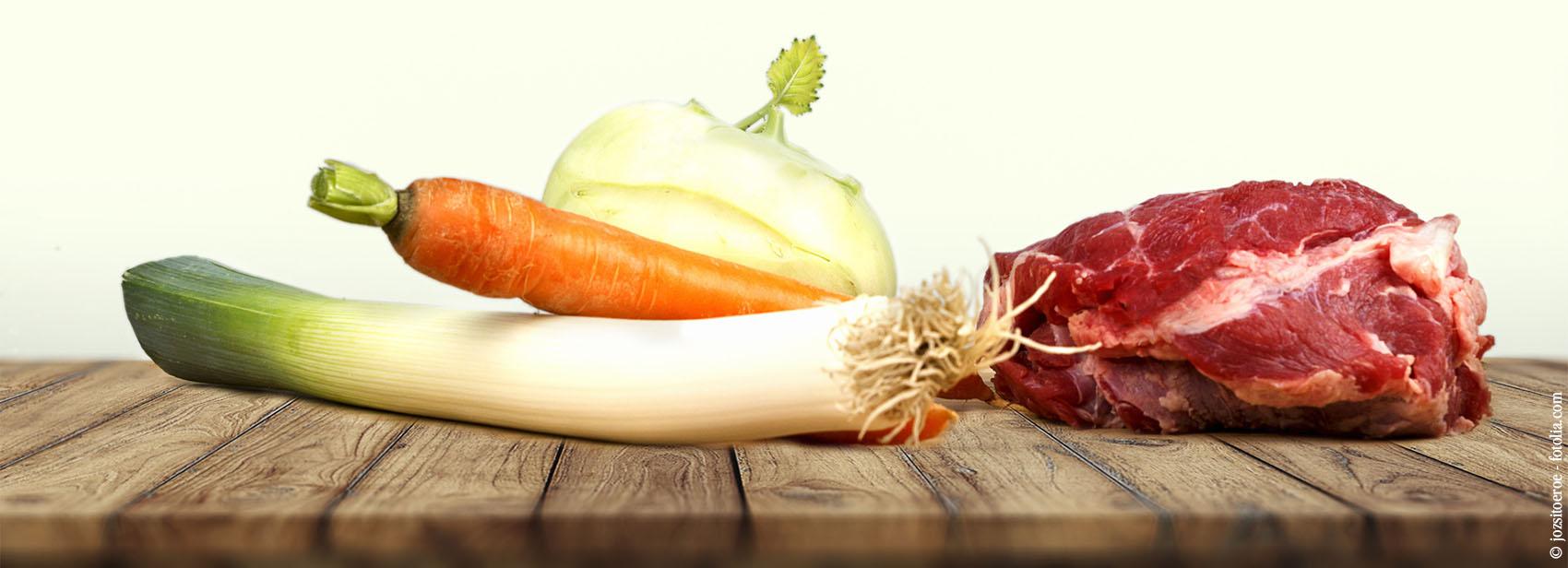 Fonds Gemüse Querkochen