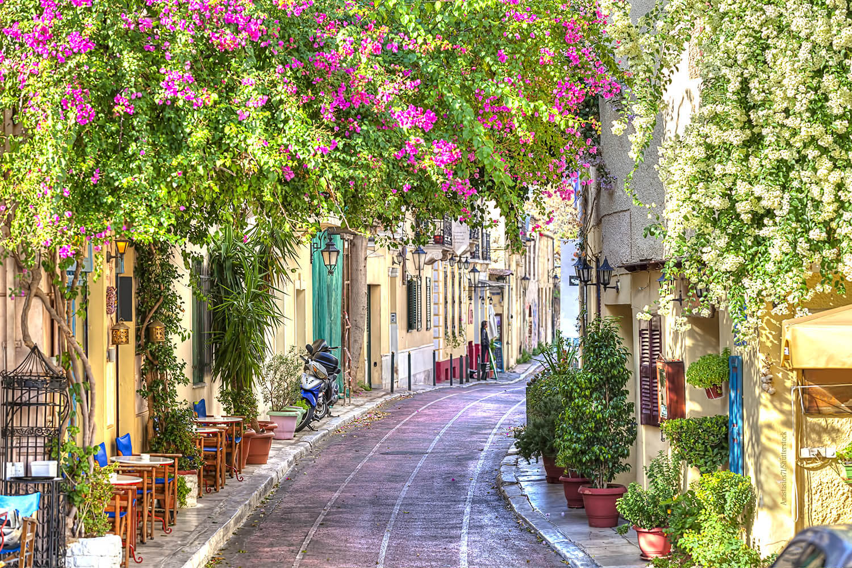 Athen Lokale Querkochen