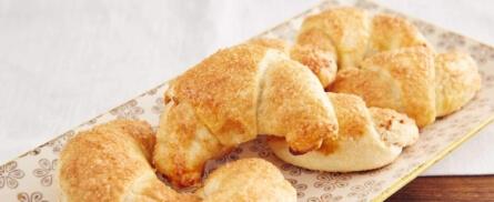 Es wird gemütlich: Süße Maroni-Kipferl - Bild
