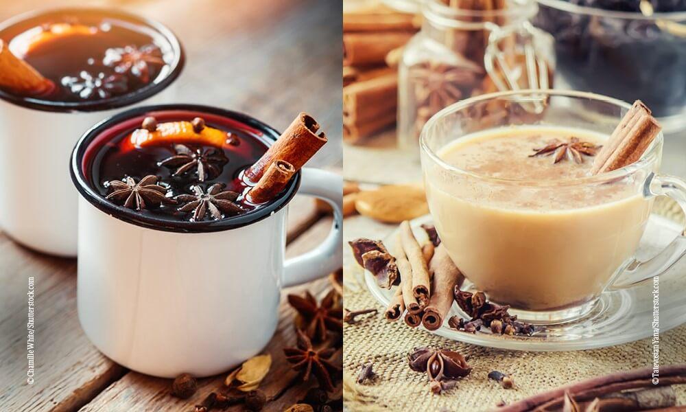 Querkochen Punsch Chai-Latte