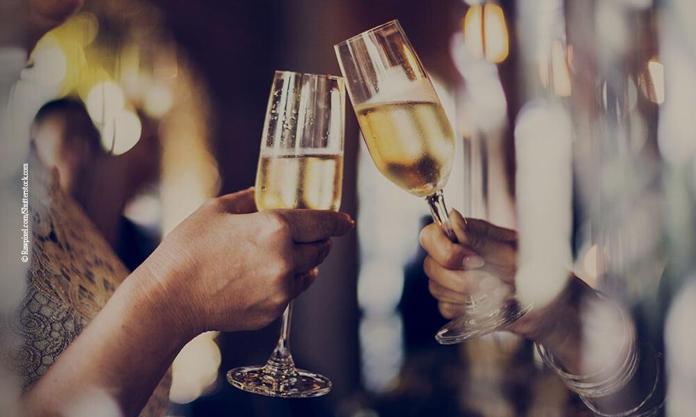 Sekt, Champagner - Querkochen Tante Fanny