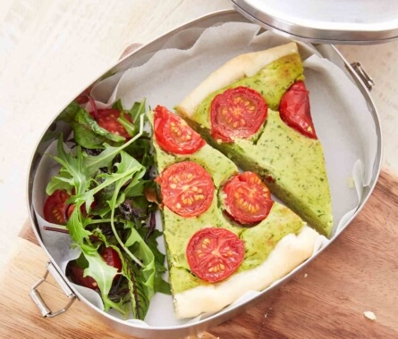 Meal-Prep: Avocado-Quiche - Bild
