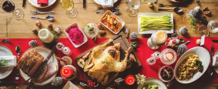 Tisch-Knigge für das Weihnachtsessen - Bild