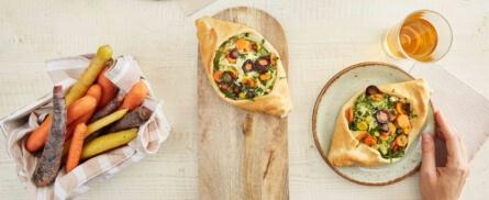 Vegan Kochen: Pizzaschiffchen mit Wirsing - Bild