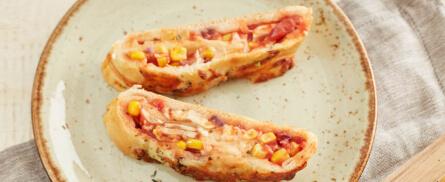 Schnell gemacht: Pizza Stromboli - Bild