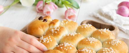 Einfach süß: Osterlamm mit Nussfüllung - Bild