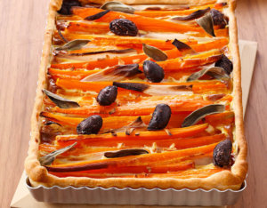 Karotten-Quiche