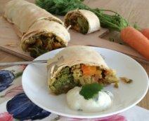 Gemüse-Curry-Strudel