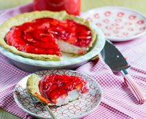Mascarpone-Erdbeer Cheesecake