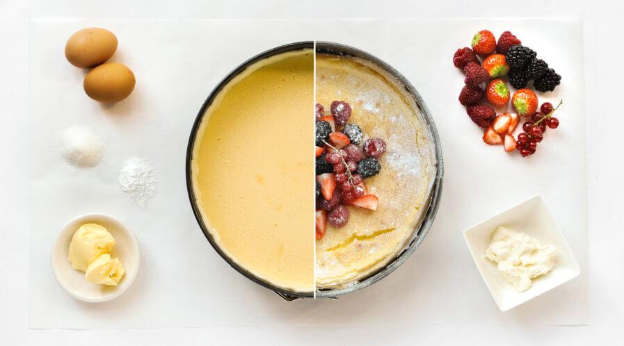 Cheesecake mit Beeren Tante Fanny
