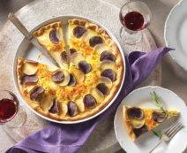 Pizzawähe mit Kartoffeln