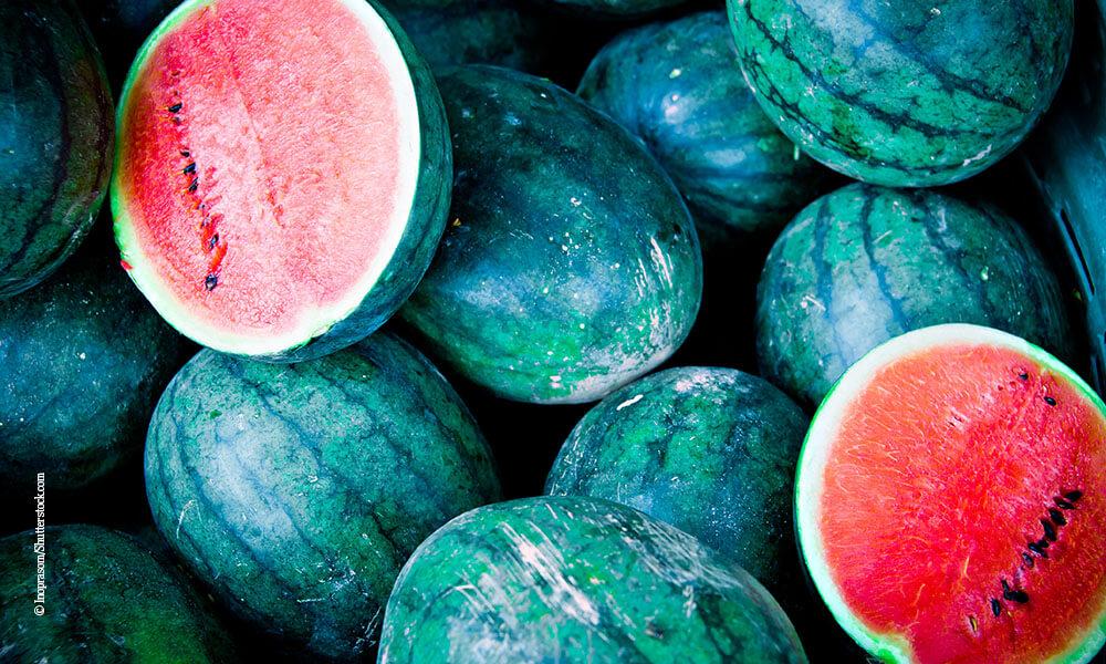 kühlende Lebensmittel - Wassermelone