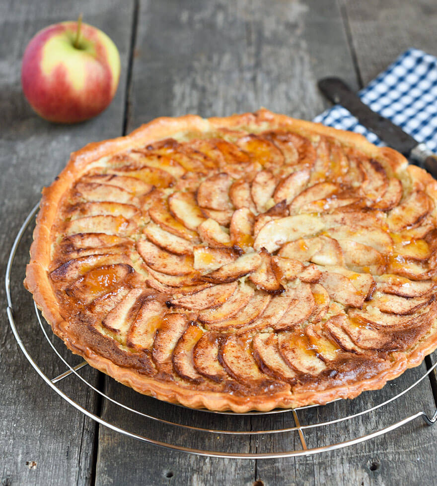 Apfel-Tarte mit Zimt Tante Fanny