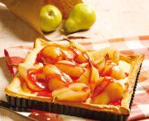 Birnenplunderkuchen