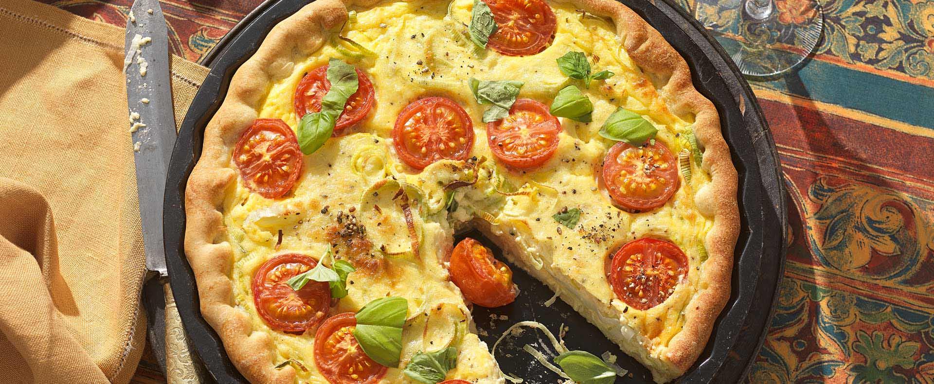 Pizzawähe Lauch Käse Tante Fanny