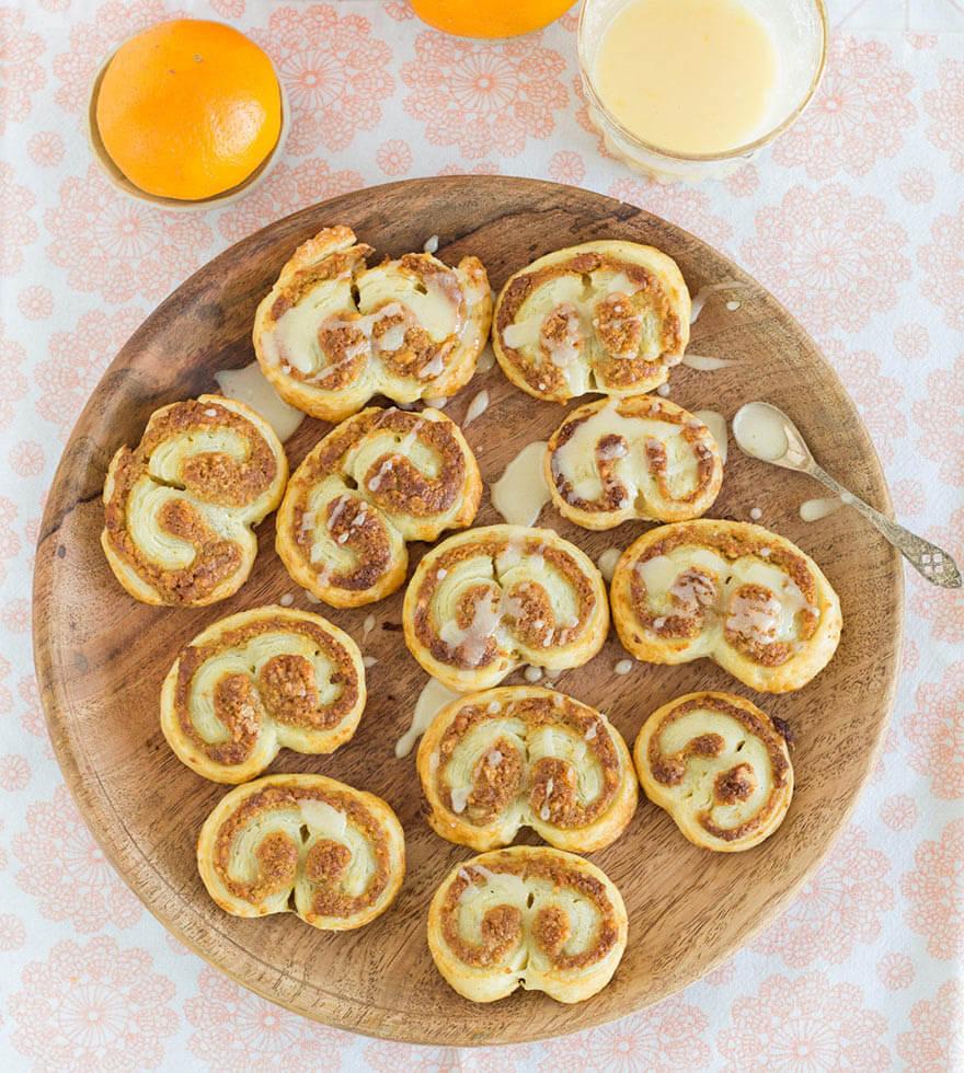 Walnuss Orangen Palmiers Tante Fanny