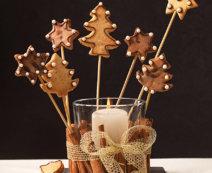 Weihnachts-Keks-Pops