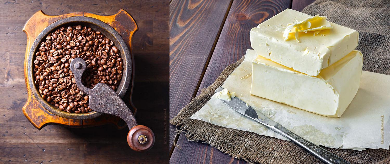 Küchenutensilien_Kaffee_Butter