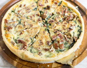 Spinat-Quiche