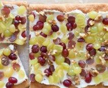 Blätterteig-Trauben-Schnitte