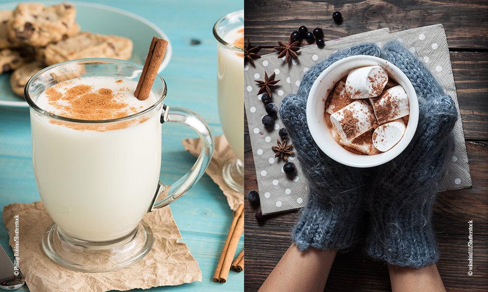 Heiße Schokolade - Eggnog - Heiße getränke- Querkochen
