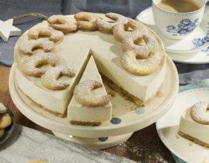 Vanillekipferl-Cheesecake
