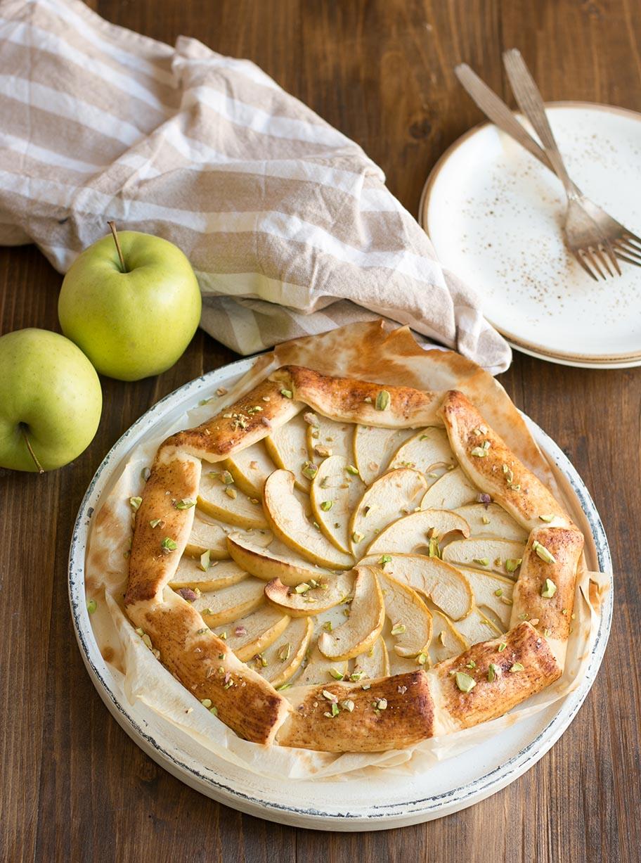 Rezept Apfelgalette