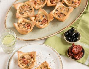 Mediterrane Pizzamuffins