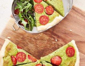 Pikante Avocado-Quiche