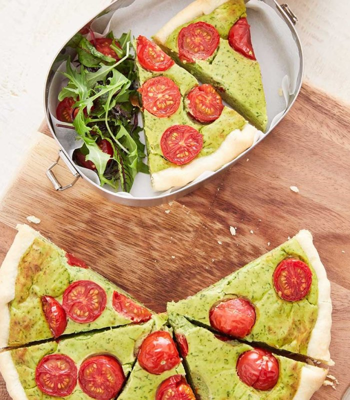 Rezept Avocado Quiche to go Tante Fanny