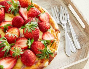Cremige Erdbeer-Mascarpone Tarte