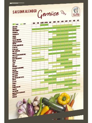 Gemüse Saisonkalender