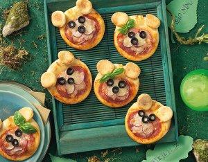 Salami Pizza für Kinder