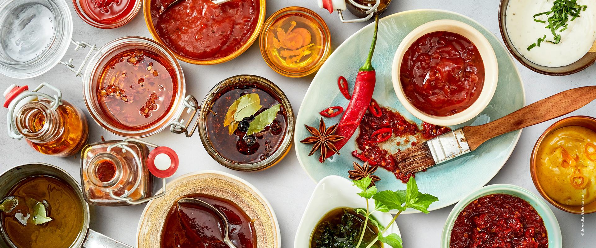 Vegan Grillen Marinaden & Saucen