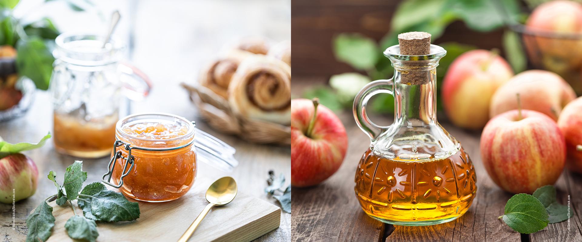 Apfel Chutney Apfelessig