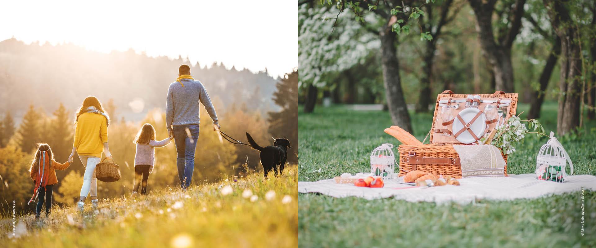 Picknick-Plätze